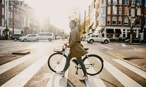 Easy biking near The Commonwealth